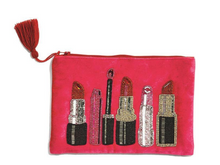 Load image into Gallery viewer, Lipstick Hand Beaded Clutch