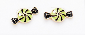 Halloween Earrings Studs - Candy