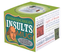 Load image into Gallery viewer, Insults Shakespeare Mug