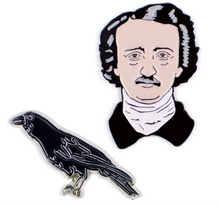 Load image into Gallery viewer, Poe & Raven Pins