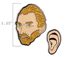 Load image into Gallery viewer, Van Gogh & Ear Pins