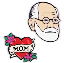 Load image into Gallery viewer, Freud & Mom Pins