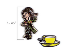 Load image into Gallery viewer, Mad Hatter & Teacup Pins