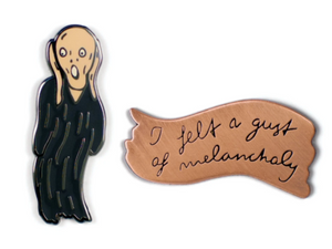 Scream & Melancholy Pins