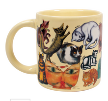 Load image into Gallery viewer, The Artistic Cat Mug