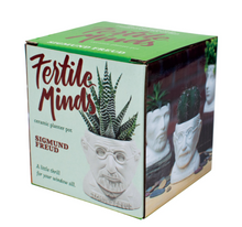 Load image into Gallery viewer, Fertile Minds: Sigmund Freud Planter
