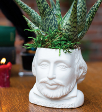 Load image into Gallery viewer, Fertile Minds: William Shakespeare Planter
