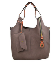 Load image into Gallery viewer, Zippered Hobo Bag