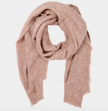 Load image into Gallery viewer, Boucle Frayed Edge Scarf