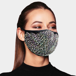 Iridescent Black Mask