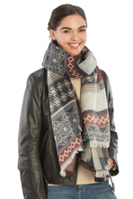 Load image into Gallery viewer, Colorful Bohemian Pattern Scarf