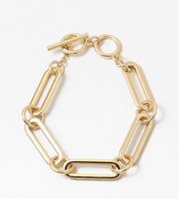 Load image into Gallery viewer, Chain Link Hoop Bracelet