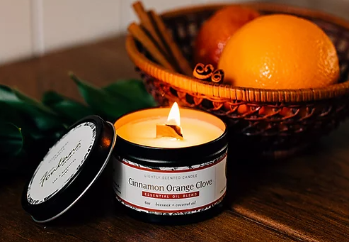 Cinnamon Orange Clove Candle