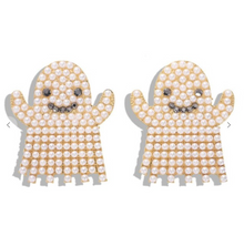 Load image into Gallery viewer, Ghosty Statement Earrings