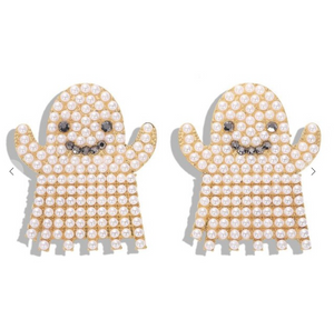 Ghosty Statement Earrings
