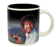 Load image into Gallery viewer, Bob Ross Self-Painting Mug
