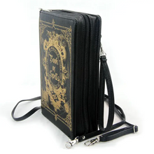 Load image into Gallery viewer, Black Book of Spells Purse
