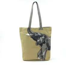 Load image into Gallery viewer, Elephant Trunk Tote Bag