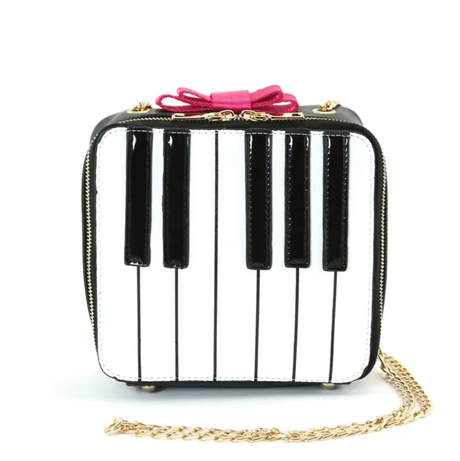 Piano Keys Crossbody
