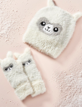Load image into Gallery viewer, Animal Knit Hat & Mitts - Kids