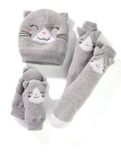 Load image into Gallery viewer, Animal Knit Sherpa Lined Socks - Kids