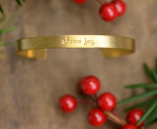 Load image into Gallery viewer, Laurel Denise Collection - Brass Cuff Bracelet