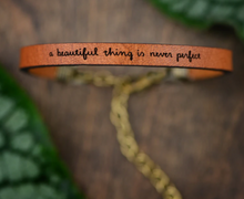 Load image into Gallery viewer, Laurel Denise Collection - Brown Leather Bracelet