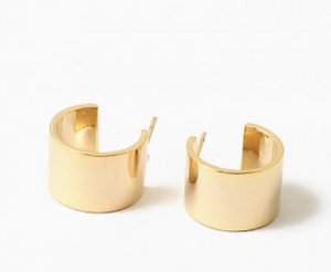 Cuff Hoop Earrings