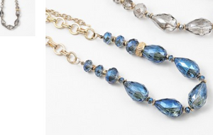 Montana Blue Diamond Statement Necklace