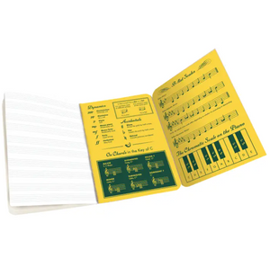 Full Size Music Notebook
