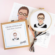 Load image into Gallery viewer, RBG Cross Stitch Kit