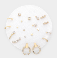 Load image into Gallery viewer, Earring Set - Sparkle & Shine
