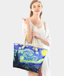 """Starry Night"" Beach Tote Bag"