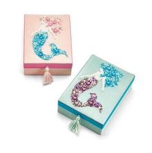Load image into Gallery viewer, Embellished Mermaid Jewelry Box