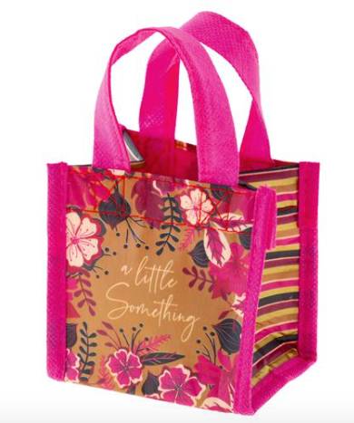 Red Floral Tiny Gift Bag