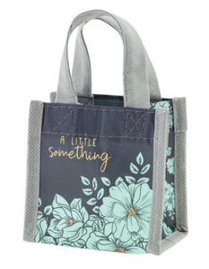 Mint Floral Tiny Gift Bag