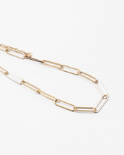 Load image into Gallery viewer, Paperclip Necklace - Gold