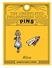 Load image into Gallery viewer, Alice & Drink Me Bottle Pins