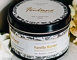 Vanilla Butter Candle