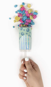 Bath Bomb Confetti Push Pop