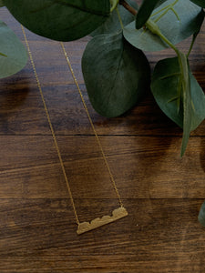 Bear Trail Dainty Necklace