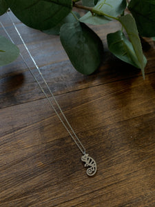 Chameleon Dainty Necklace