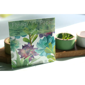Flying Wish Paper - Succulents