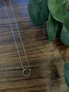 Circle Dainty Necklace