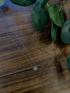 Snowflake Dainty Necklace