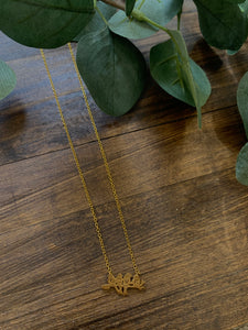 Love Birds Dainty Necklace