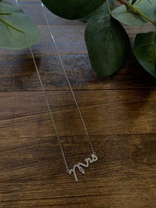 Mrs. Dainty Necklace