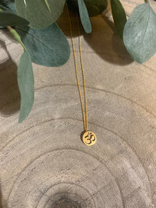 Om Dainty Necklace