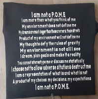I Am Not A P.O.M.E. T Shirt