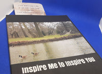 Inspire Me to Inspire You Book and Bookmark Bundle